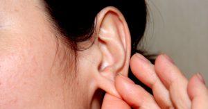 Массаж мочки уха против сонливости