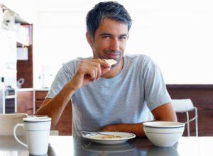 Завтрак перед началом рабочего дня