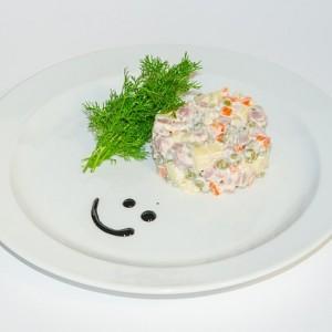 маленькая тарелочка для того чтобы не переедать