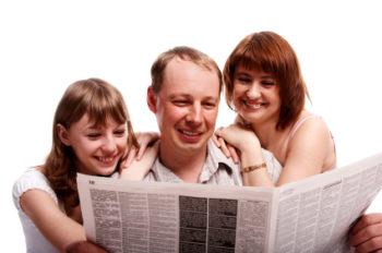 Читать газету