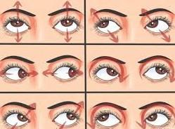 этапы гимнастики для глаз