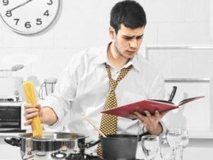 мужчина кулинар