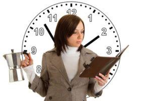 Правильное распределение времени - залог успеха