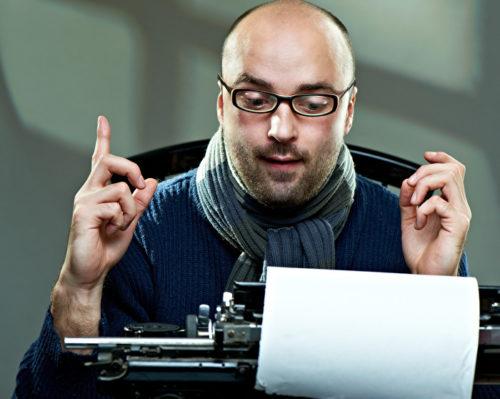 Писатель журналист