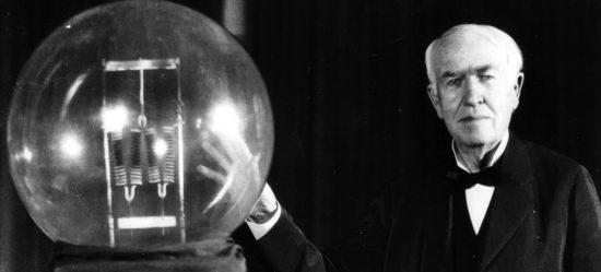 Thomas A. Edison томас эдисон изобретатель электричества