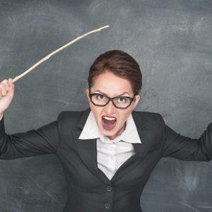 боязнь учителей