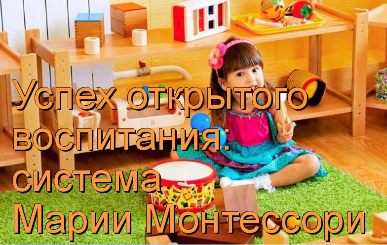 педагогическая система монтессори